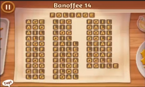Word Cookies Banoffee Level 14 Answers Word Cookies Answers